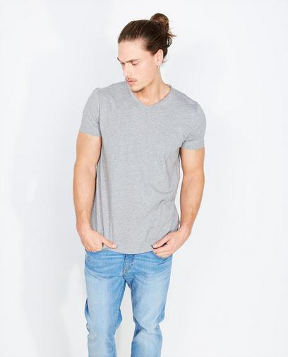 T-shirt gris clair